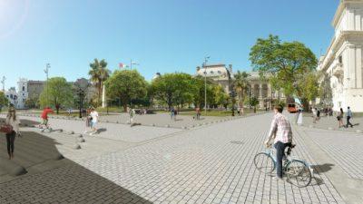 Presentan la remodelación de Plaza 25 de Mayo de Santa Fe