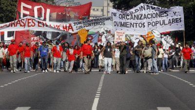 Conflictividad social en Buenos Aires: Hubo más de 200 piquetes en el primer trimestre del año