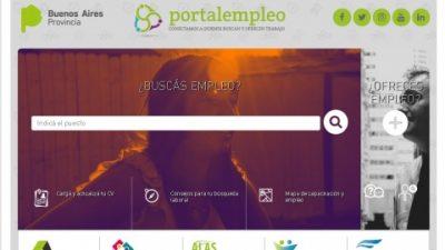 Ponen en marcha portal para combatir la desocupación en toda la provincia de Buenos Aires