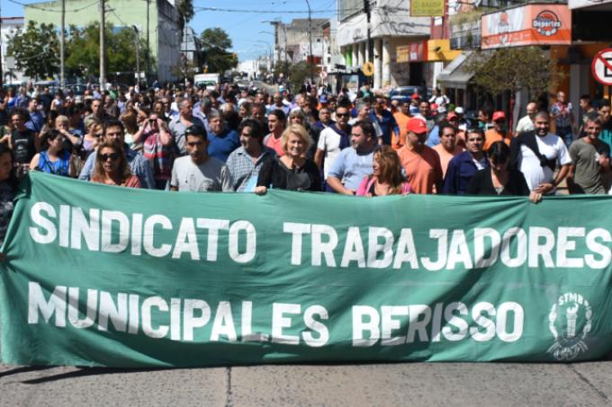 Los trabajadores municipales de Berisso cerraron el acuerdo salarial