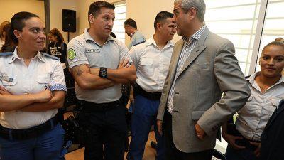"""Avellaneda: """"Hay una intencionalidad de vaciar a la Policía Local"""", advirtió Ferraresi"""