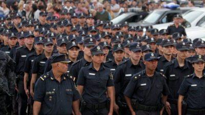 Los policías bonaerenses se quedaron sin sindicato