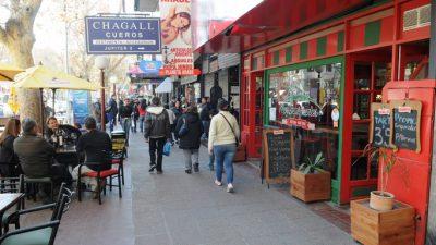 El comercio de Mendoza no levanta cabeza