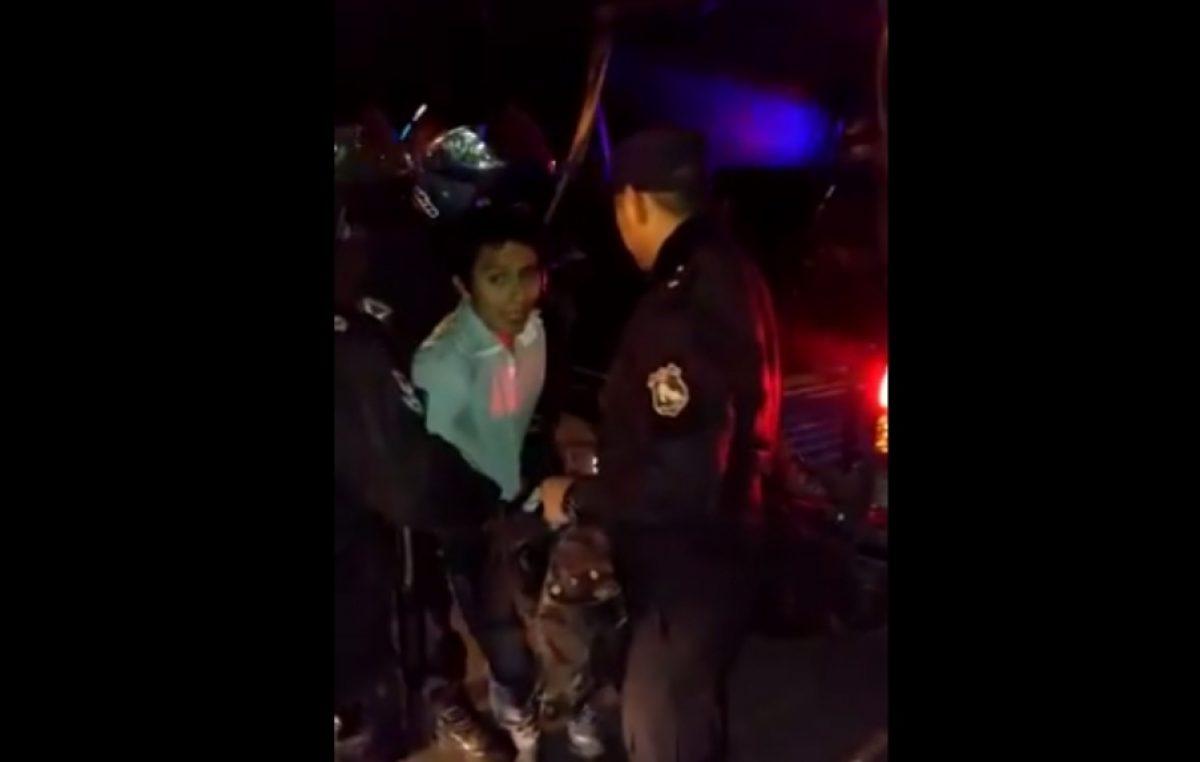 Bastones Largos en Jujuy: la policía entró en la Universidad y detuvo al presidente del Centro de Estudiantes