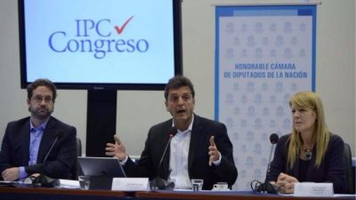 IPC Congreso: la inflación alcanzó 33% interanual y 54,5% desde que asumió Macri
