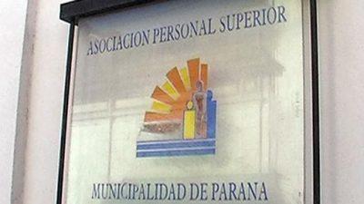 Los empleados municipales jerarquizados de Paraná inician este jueves medidas de fuerza