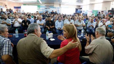 Magario y Espinoza se reunieron con la CGT y apoyaron el paro general del 6 de abril