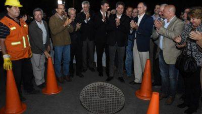 Quedó concluida la obra del subsistema cloacal de Rawson que beneficia a 62 mil vecinos