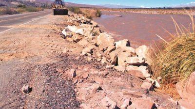 Confirman defensas y arreglos en el sistema de riego para Jáchal e Iglesia