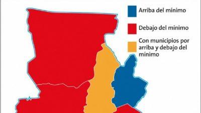 Aumenta la disparidad salarial en los municipios del interior catamarqueño