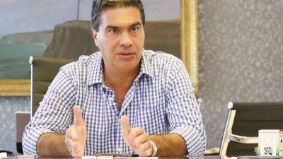"""Capitanich denunció """"un trato discriminatorio"""" del Gobierno con las provincias"""