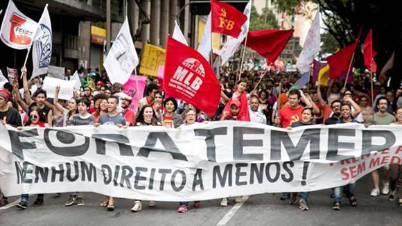 Brasil: huelga general contra medidas de ajuste de Temer