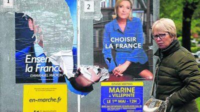 El abstencionismo electoral da impulso a Marine Le Pen