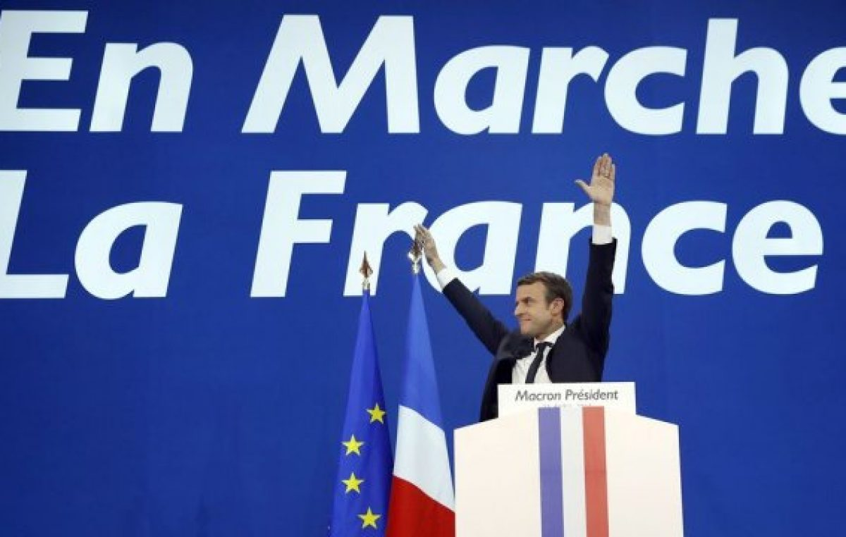 Macron ganó la presidencia en Francia y Europa respira