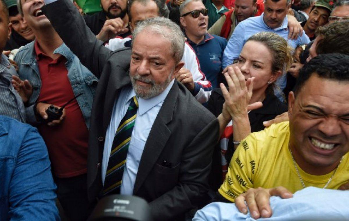 Lula fue interrogado durante 5 horas por el juez del Lava Jato