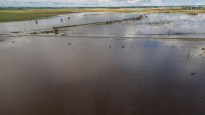 Denuncian que la Municipalidad de San Francisco realizó obras hídricas en territorio santafesino