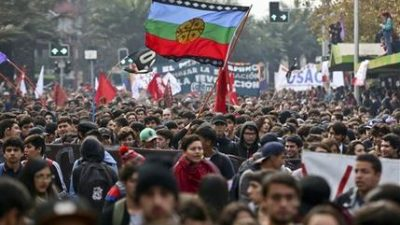 Estudiantes chilenos toman las calles para exigir condonación de deudas