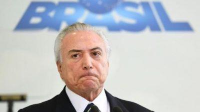 Juicio que puede anular presidencia de Temer en Brasil se reanuda en junio