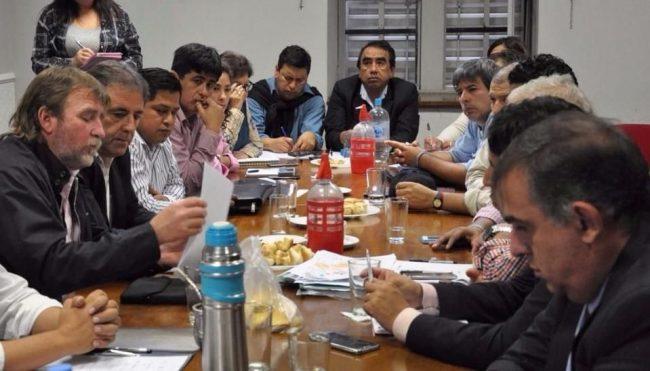 Diputados se reunieron ayer con intendentes jujeños