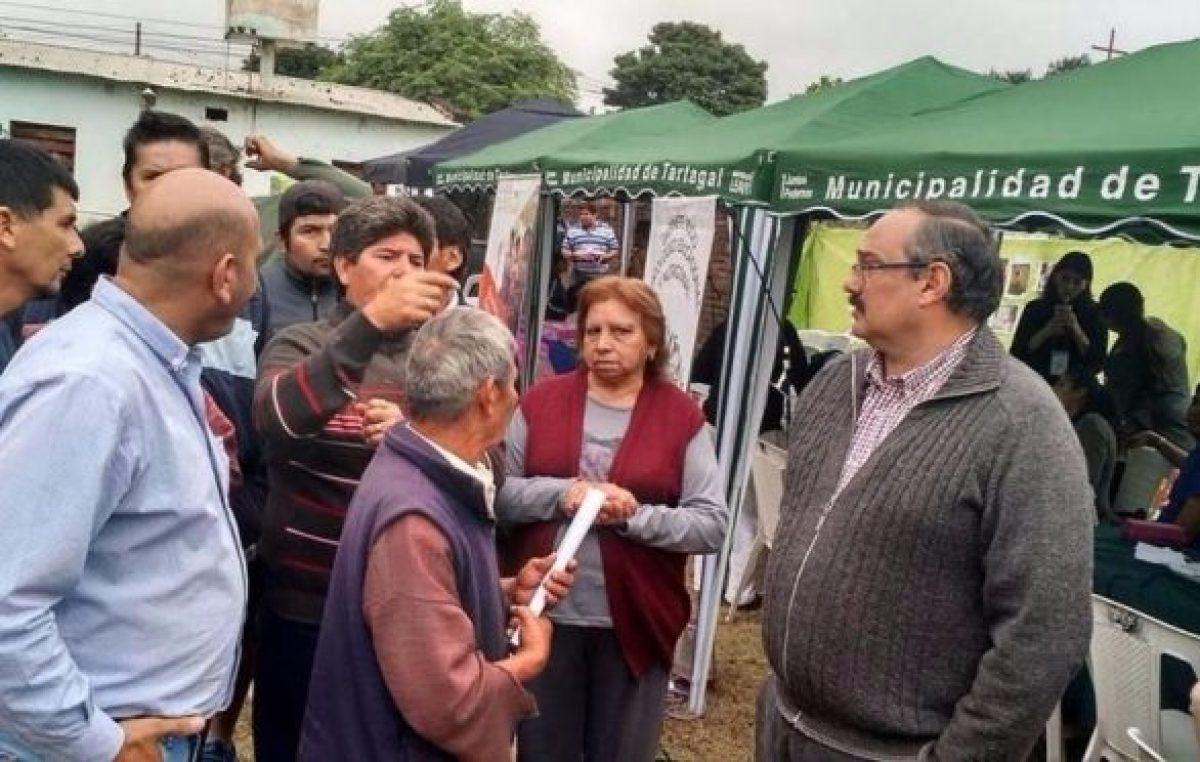 Tartagal comenzó la descentralización de servicios municipales