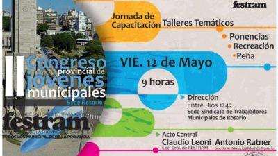 II Congreso de Juventudes Municipales en la Ciudad de Rosario, 12 de mayo