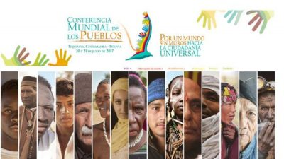 Anuncian miles de asistentes a la conferencia mundial sobre ciudadanía universal