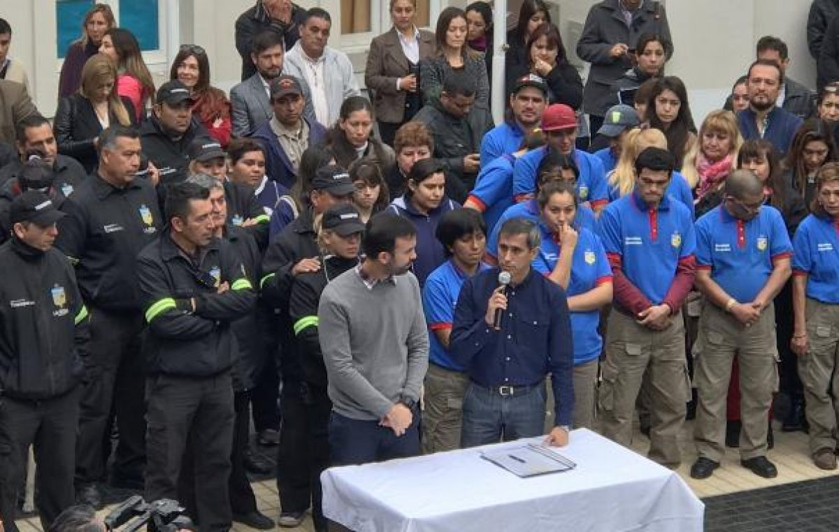 Más de 2 mil municipales pasaron a planta permanente en La Rioja