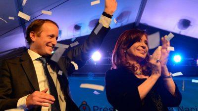"""Insaurralde definió su candidata: """"Quiero verla a Cristina en el Congreso"""""""