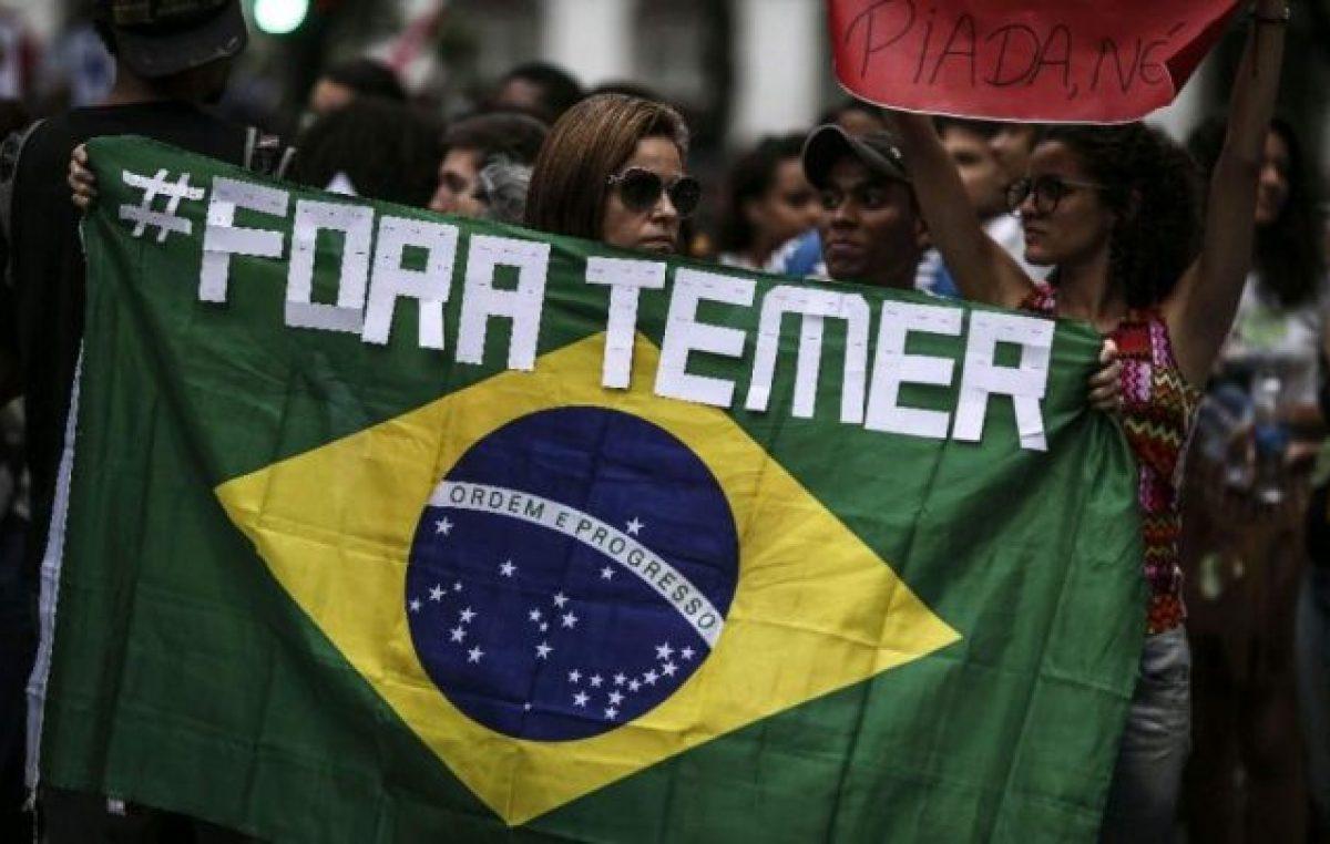 En Brasil, 82% reclama el despido de ocho ministros