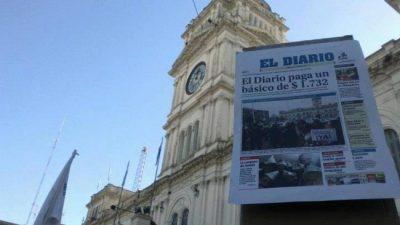 Los trabajadores de El Diario de Paraná, en lucha contra el vaciamiento