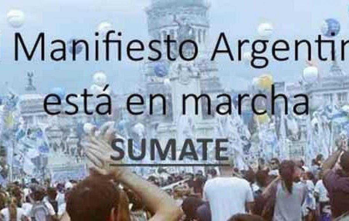 El Manifiesto Argentino en Santa Fe