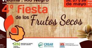 Fiesta de los Frutos Secos del 26 al 28 de mayo en Viedma