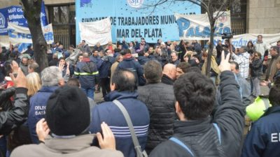 El Ejecutivo de Mar del Plata ratificó que les descontará el día de huelga a los municipales