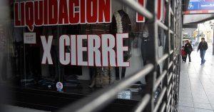 Chubut: Cerca de 400 comercios cerraron en un año