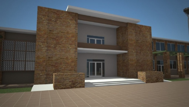 Licitan la obra para cambiar la fachada del edificio municipal en Rawson