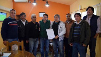 Acuerdo salarial con los municipales en Fray Mamerto Esquiú