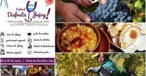 Festival Disfruta Jujuy!… Vinos de Altura y Sabores con Historia..Del 25 al 27 de mayo