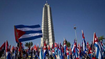 Raúl Castro presidió su última marcha del 1 de mayo