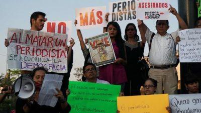 Cacería de periodistas impune en México