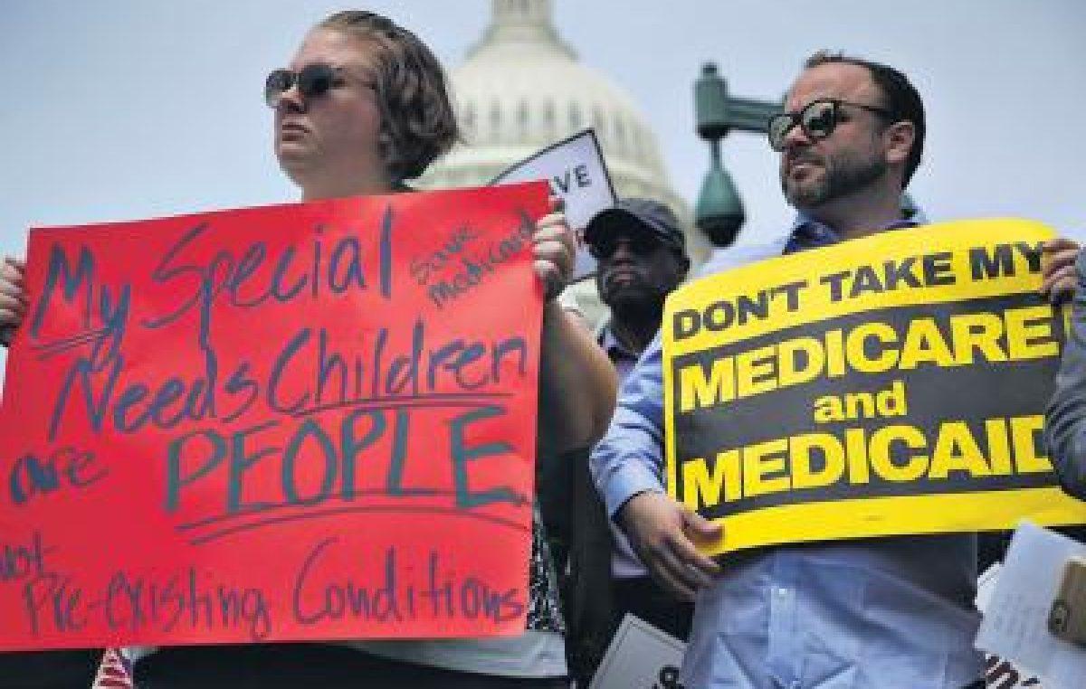 Media sanción para derogar la reforma de salud