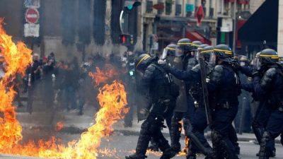 Represión en Turquía, Francia e Italia a trabajadores por el 1 de mayo