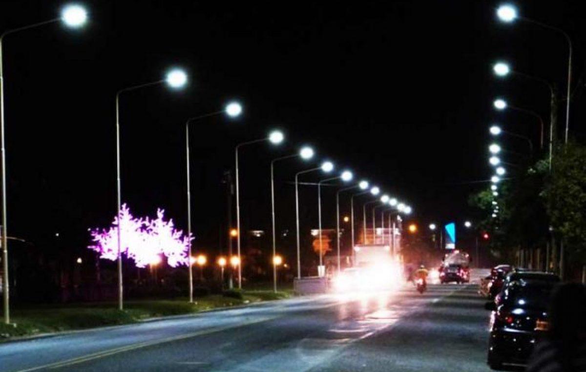 La Provincia y 33 municipios cordobeses se unen para instalar luminarias led