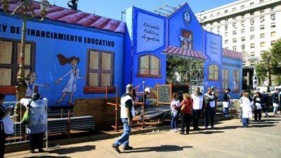 La escuela pública itinerante llega hoy a Santa Fe