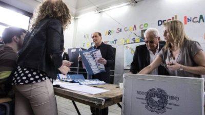 Italia: la centroderecha se impuso en numerosas ciudades