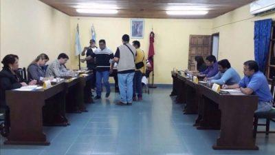 Los concejales de Salvador Mazza siguen el proceso de juicio político al intendente