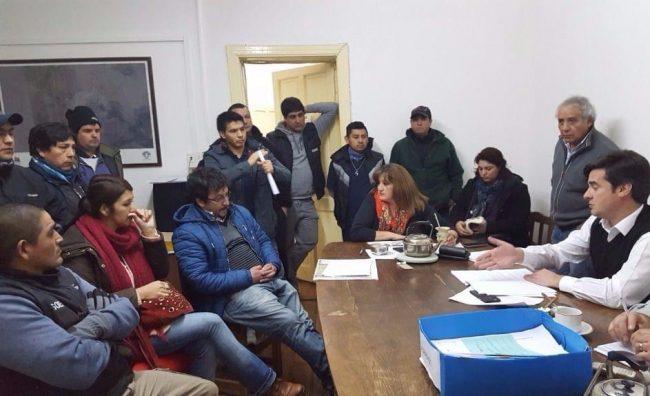 Esquel: Comisión de Asuntos Legales del Concejo Deliberante se reunió con el SOEME por reclamo de inspectores de Tránsito