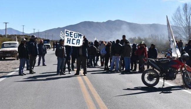 Nueva jornada de protesta de municipales de Humauaca