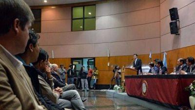 La Provincia de Salta adelantará $92 millones a municipios para obras