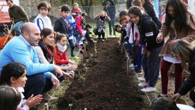 Quilmes:inauguraron la primera huerta educativa demostrativa municipal