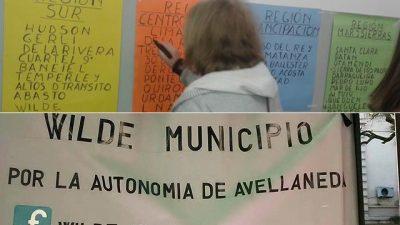 División de municipios: piden audiencia con Vidal y marchan a La Plata